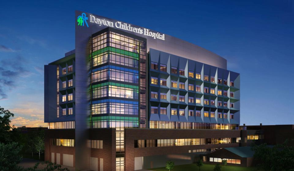 Dayton Children's Hospital Patient Tower